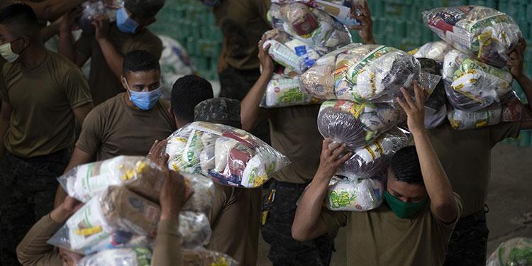Tercera fase de Honduras Solidaria arranca con entrega de alimentos