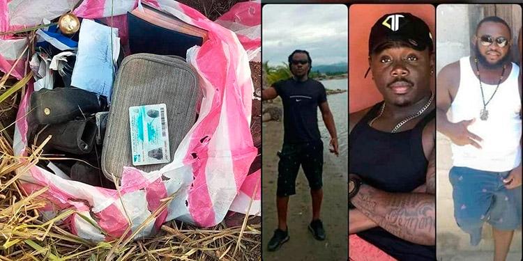 Papeles y prendas personales de dos de los cuatro garífunas raptados hace nueve días, estaban enterrados en una bolsa, en una hacienda sampedrana.