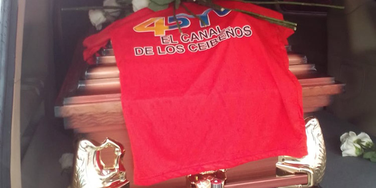 Germán Vallecillo Jr. laboró por años en 45TV el canal de los ceibeños.
