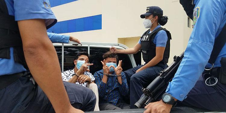 El informe de la DPI señala que los detenidos son responsables de ilícitos de extorsión, distribución de drogas, robo de vehículo y asesinatos en Hábitat y alrededores.