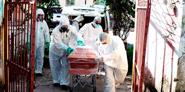 20 hondureños mueren con signos de coronavirus