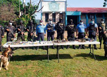 Dos inspecciones en una semana se han ejecutado en el centro penal de Nacaome, Valle, por parte de autoridades.