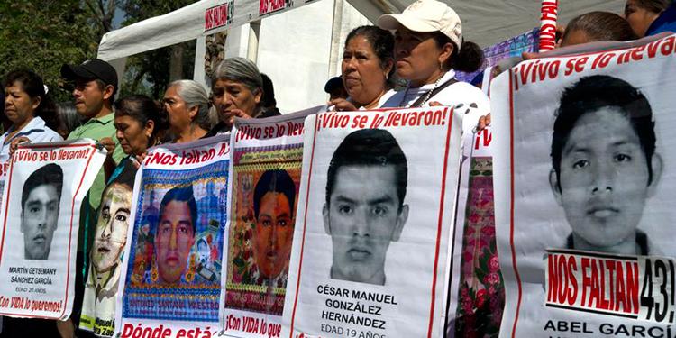 Identifican restos de uno de los 43 desaparecidos de Ayotzinapa
