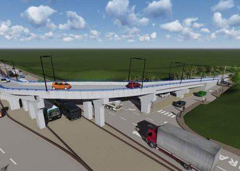 La nueva obra de infraestructura tendrá una longitud de 160 metros y beneficiará a miles de conductores.