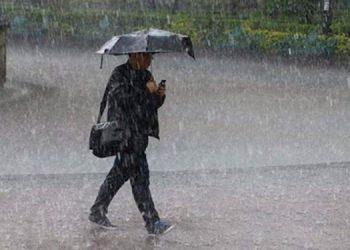 Informa Cenaos: Lluvias fuertes en el norte y occidente