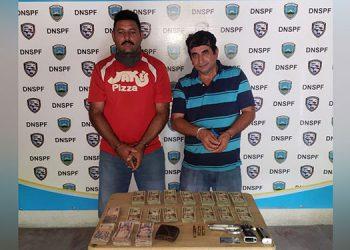 Ambos acusados pudieron demostrar la procedencia del dinero, por lo tanto quedaron libres.
