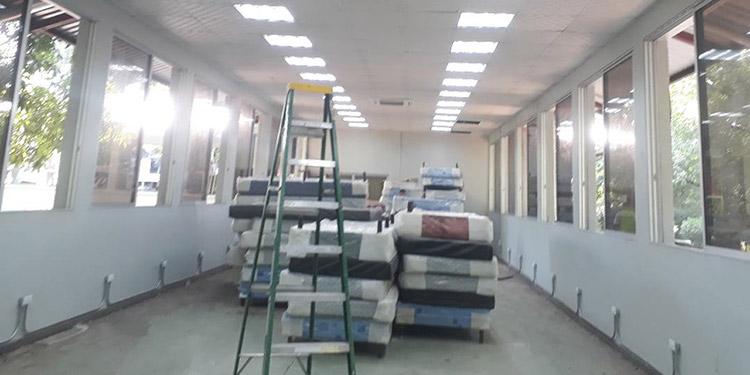 Centros de triaje bajan afluencia de pacientes en Hospital del Sur