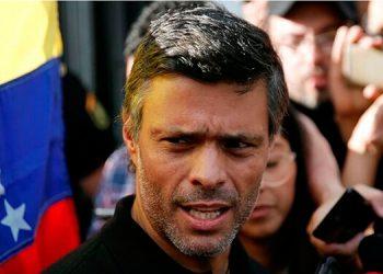 Leopoldo López acusa al Gobierno Venezuela de robar su partido
