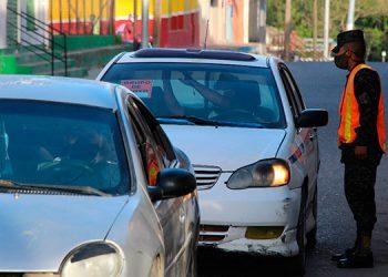 Los automovilistas deben comprobar que en efecto están autorizados para transitar por las calles y avenidas de Siguatepeque.