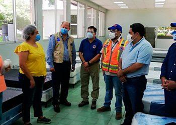 La nueva sala está ubicada en los predios de la Escuela de Enfermería, en Choluteca.