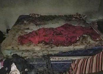 La fémina quedo prácticamente en la calle, al momento que su excompañero de hogar le quemó todas sus pertenencias.