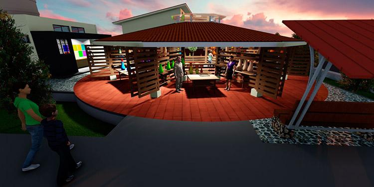 Inicia construcción de la Plaza del Artesano