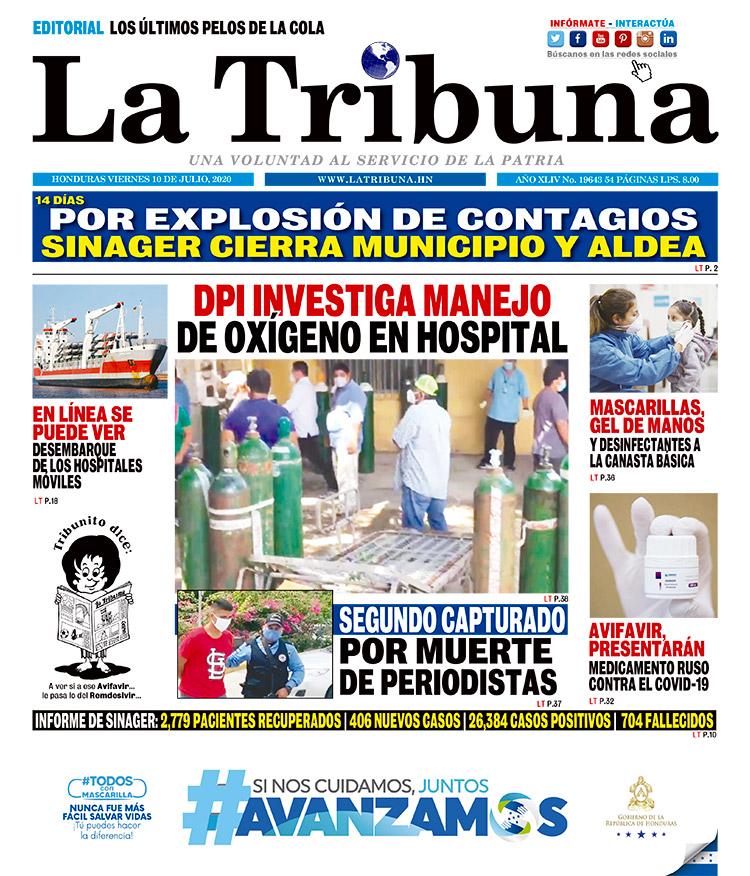 DPI INVESTIGA MANEJO DE OXÍGENO EN HOSPITAL
