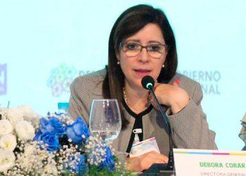 Débora Cobar, Directora Regional de Plan International para América Latina y el Caribe.