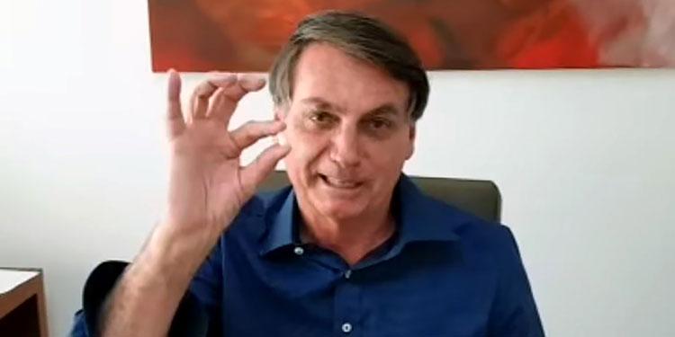 Presidente Bolsonaro está harto de la cuarentena por coronavirus: