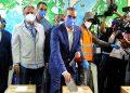 El candidato del Partido Revolucionario Moderno (PRM), Luis Abinader, lidera los escrutinios de las elecciones por la presidencia de República Dominicana, según el primer boletín oficial. (LASSERFOTO AFP)