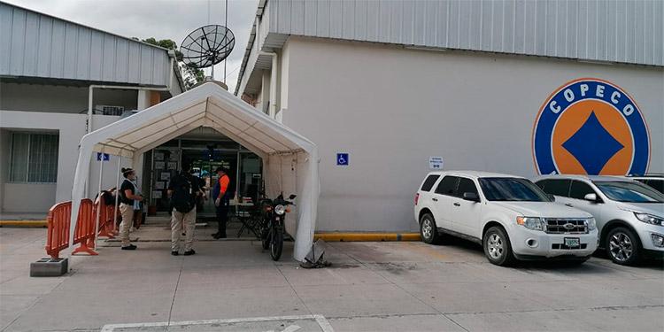 MP secuestra en Copeco documentos de hospital móvil de Villanueva