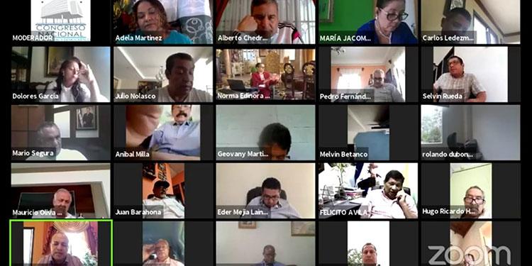 Los descuentos y pago en cuotas de impuestos municipales fueron autorizados por el CN, durante la sesión virtual.