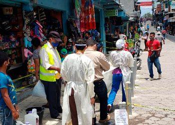 La brigada también realiza actividades en barrios y colonias de Siguatepeque, Comayagua.