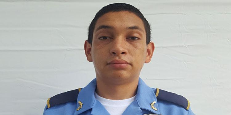 El agente Jorge Alberto Solórzano Ayestas, en vida.