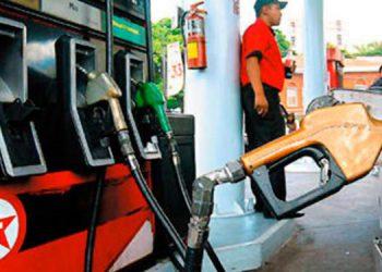 Sube precio de la gasolina a partir del lunes