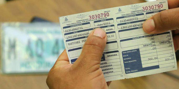 IP divulga nuevo calendario de pago de la Tasa Única Anual Vehicular
