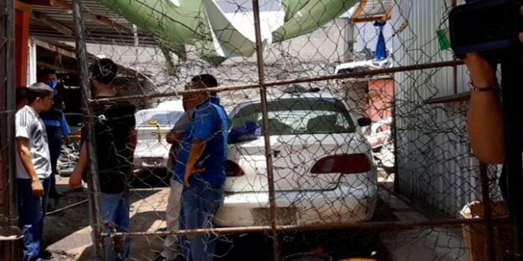 El taxista Jorge Alexis Umaña Jiménez fue ultimado por desconocidos disfrazados de militares en un taller de mecánica automotriz.