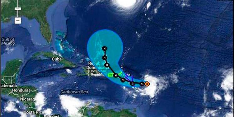"Tormenta tropical ""Gonzalo"" podría ""azotar"" a Honduras"