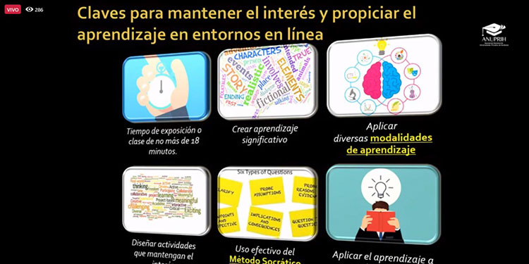 """Unitec y la ANUPRIH organizan la conferencia """"Educación Superior en la Postpandemia"""""""