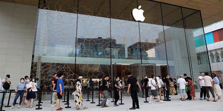 Apple ignora la guerra comercial y abre en Pekín su tienda más grande de Asia