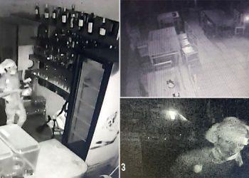 El malhechor que ingresó a robar al restaurante, ya fue plenamente identificado por la DPI, por lo que no se descarta su captura.