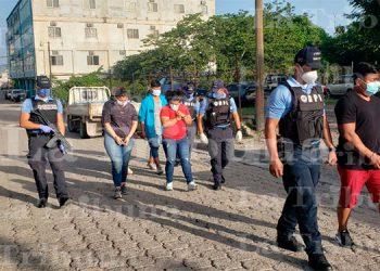 "Capturan a miembros de la banda delictiva ""El Tato"" en Comayagua"