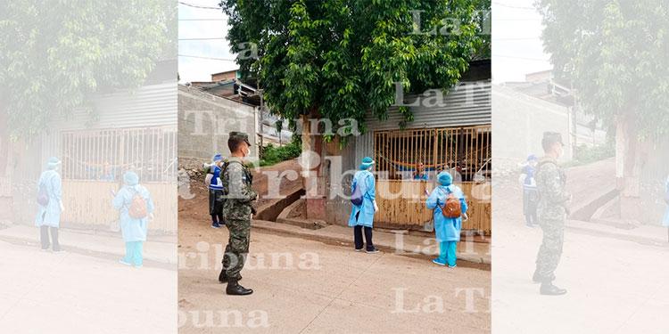 Brigadas médicas para detectar COVID-19 llegan a las colonias Las Ayestas y la Ulloa