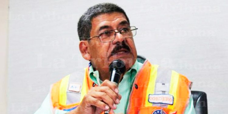 Comisionado de Copeco rinde declaración sobre hospital móvil de Villanueva, Cortés