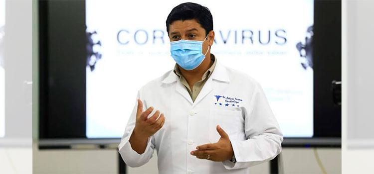 Roberto Cosenza: Curva epidemiológica en Cortés va en descenso