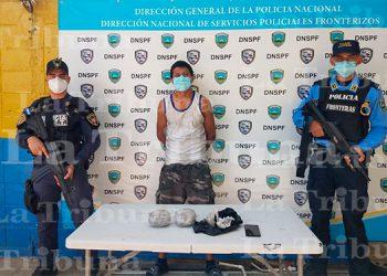 Capturan a hombre por tráfico de drogas en Choluteca