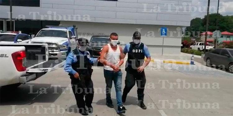 Capturan a sospechoso de homicidio en San Pedro Sula