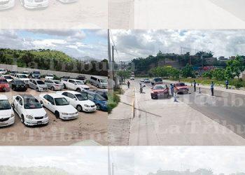 DNVT decomisa más de 50 vehículos en la capital
