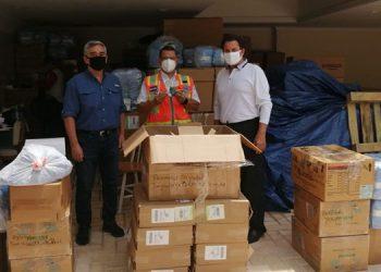 Con el equipo se habilitarán 50 camas en la unidad estabilizadora de pacientes en Expocentro.
