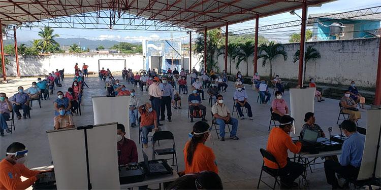 En 147 municipios, el RNP inició oficialmente el enrolamiento.