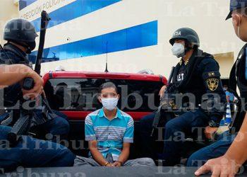 Arrestan a un supuesto gatillero de la MS-13 en la capital