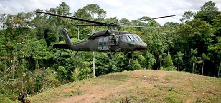 Hallan helicóptero siniestrado en Colombia; 11 desaparecidos