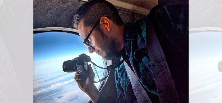 Huracán Mitch inspiró a este hondureño a volar a través de tormentas