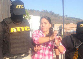 Ilsa Damaris Aguirre Flores continuará en Támara, acusada por lavado de activos.