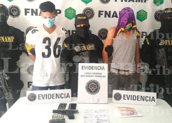 Capturan a tres supuestos pandilleros en la capital