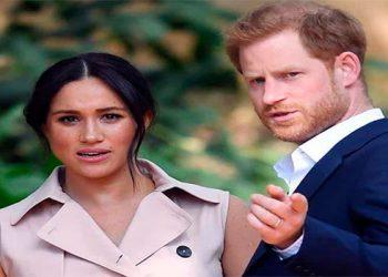 Príncipe Enrique y Meghan demandan a paparazzi por volar drones sobre su casa
