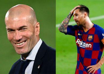 """Zidane la """"bestia negra"""" de Messi"""
