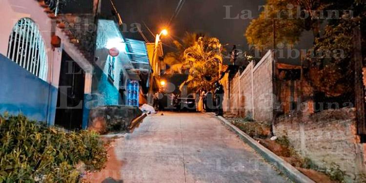 Balacera deja cuatro muertos y dos heridos en Comayagüela