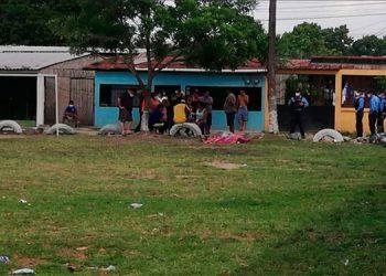 Balacera deja dos personas muertas en la colonia Sandoval Sorto en SPS