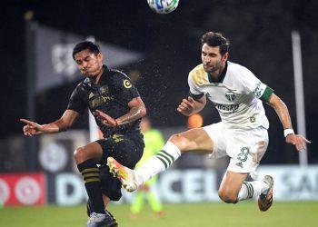 """Andy Najar tras su debut con LAFC: """"Feliz de volver a jugar"""""""